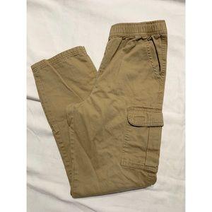 Boys khaki cargo pant